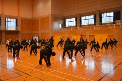 中学生への柔軟性向上指導