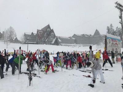 スキー・スノーボード×ヨガ